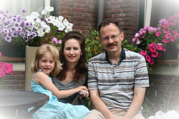 Laura, Pamela en Gerrit